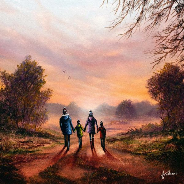 Danny Abrahams DA79 - Loving life - original